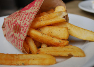 How to make crispy french fries.