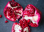 How to remove the seeds from the pomegranate.