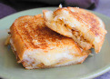 How to make perfect grilled cheese sandwich.