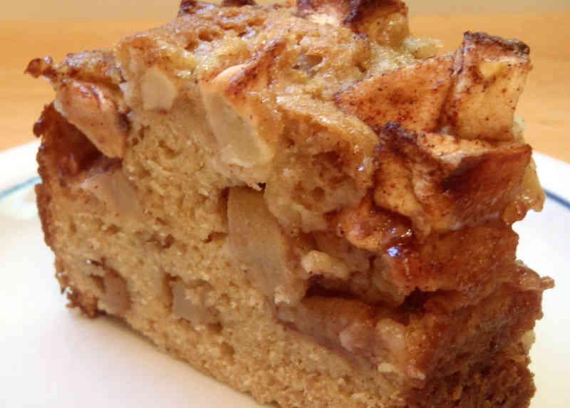Apple Cake Recipe 266 Calories Happy Forks